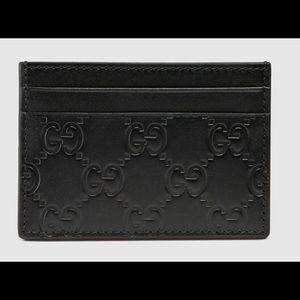 Gucci Bags - Gucci wallet small signature with silver clip